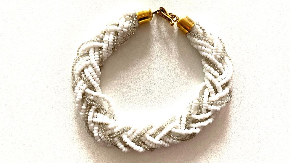 Bracelet tressé fin