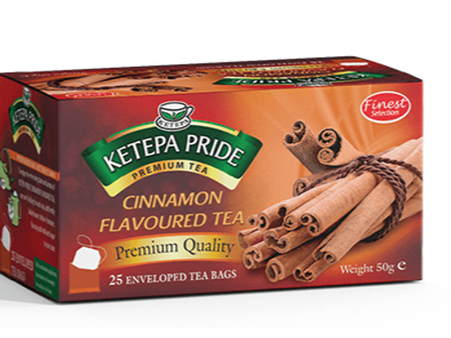 Zimt Aromatisierter Schwarztee Teebeutel 25 Stk