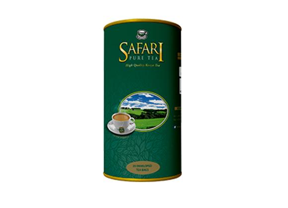 Safari Pure Teebeutel mit Umschlag in einer Blechdose