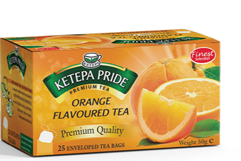 Orange Aromatisierter Tee Teebeutel 25 Stk