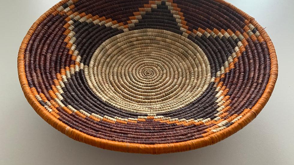 Bowl Sisal in brown tone