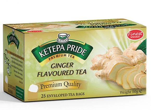 Ketepa Pride Ingwer Teebeutel mit Umschlag 25 Stk