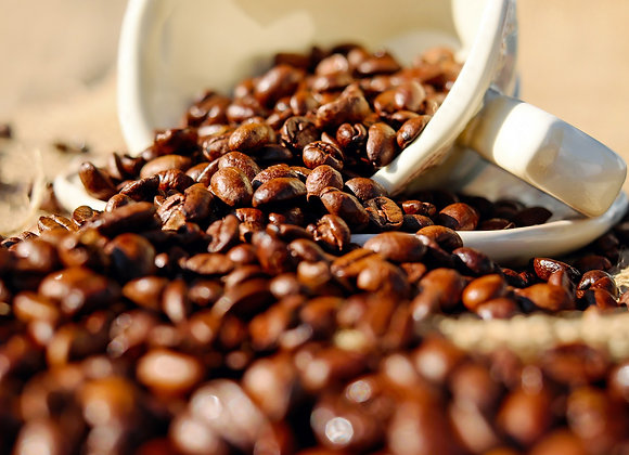 Kaffee in Bearbeitung
