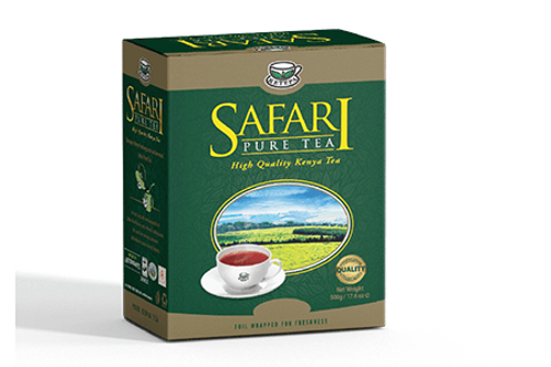 Safari Pure Offener Tee