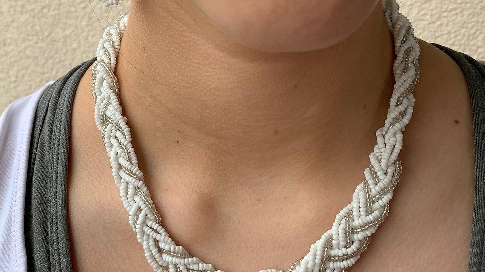 Halskette fein geflochten