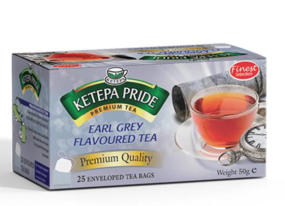 Ketepa Pride Earl Grey Teebeutel mit Umschlag 25 Stk