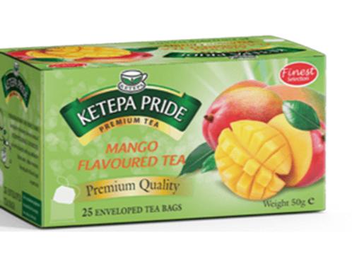 Mango Aromatisierter Schwarztee 25 Stk