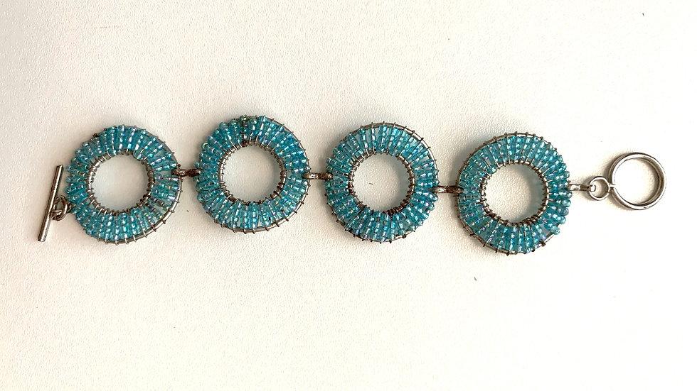 Bracelet avec rondelles