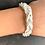 Thumbnail: Bracelet tressé fin