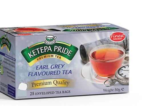 Earl Grey Aromatisierter Schwarztee Teebeutel 25 Stk