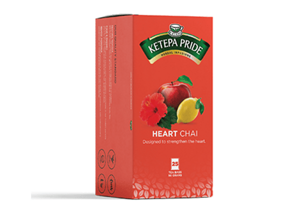 Kräutertee Chai für ein gesundes Herz Teebeutel mit Umschlag    25 Stk