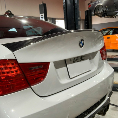 BMW E90M3にイロイロ♬