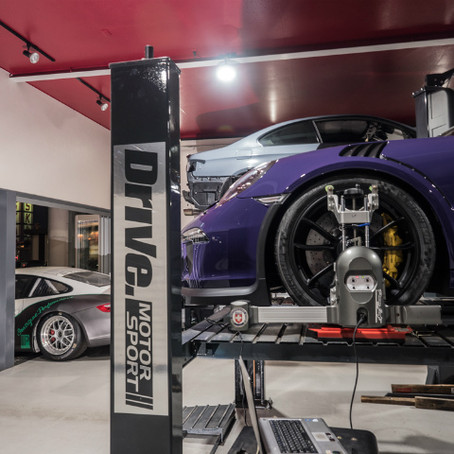 PORSCHE 991.1 GT3RS のサスペンションセッティング!
