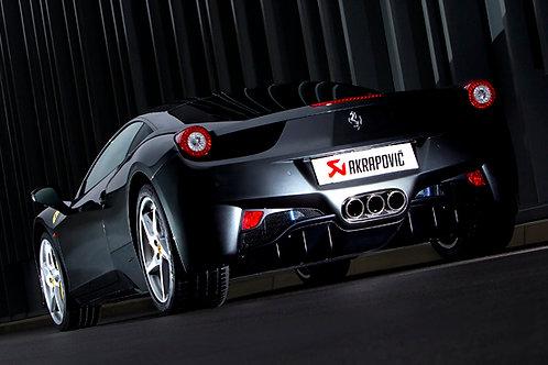 "AKRAPOVIC""Slip-on Line for FERRARI 458 Italia/458 Spider"