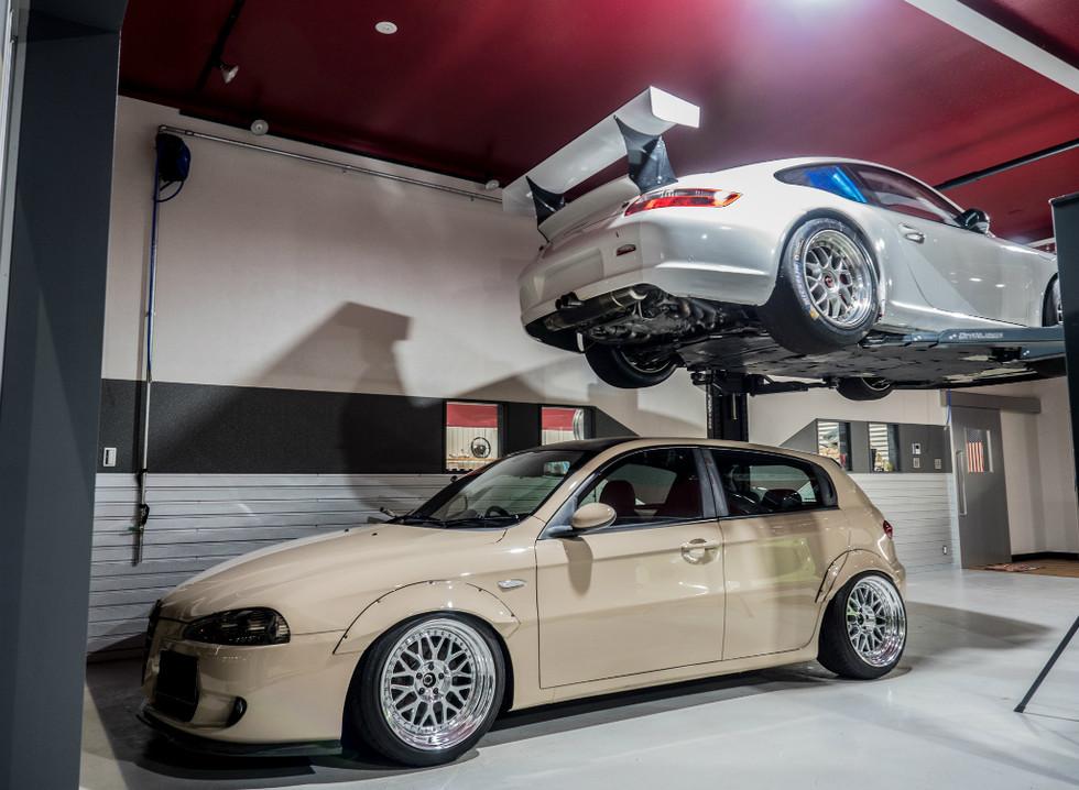 Alfa and Porsche
