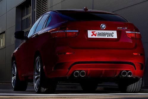 """AKRAPOVIC""""Evolution Line for  BMW X6M (E71)"""