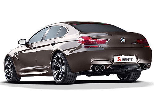 "AKRAPOVIC""Evolution Line for BMW M6 Gran Coupe (F06)"