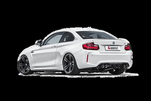 "AKRAPOVIC"" Evolution Line  For BMW F87/M2"