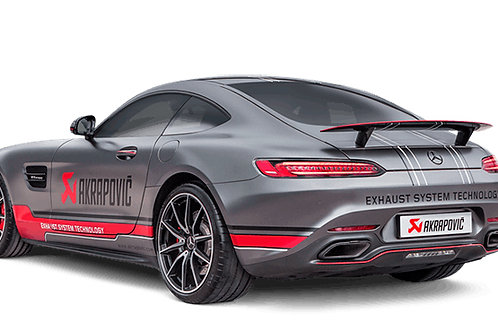 "AKRAPOVIC""Evolution Line for  MERCEDES AMG GT (C190) / GT Roadster (R190) / GT S"