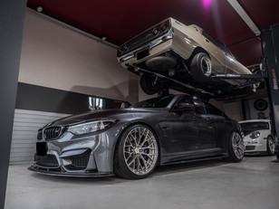 BMW F82 M4 BOND OSAKA 600PS みたいな M4 始めました!