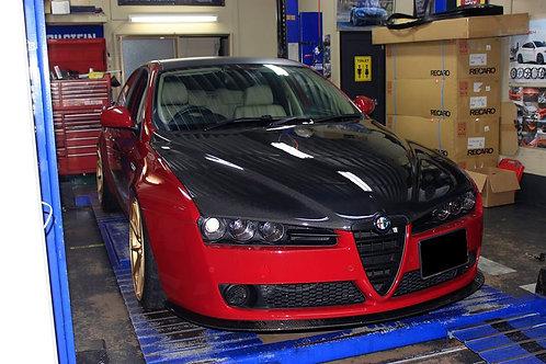 "Imagine. Perfomance"" CARBON BONET For Alfa Romeo 159"