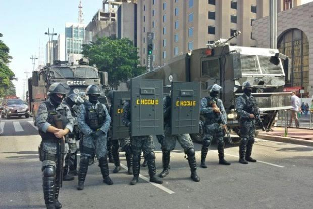 RCV RIOT Control Vehicle in Brasil