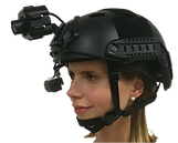 intelligence information and data collaboration Therml Imaging Sensor Video Recorder HMD Head Mounted Helmet Mounted Monocular Micro Rugged Wearable Survaillance Head Mounted Helmet Thermal LWIR Situational Awareness Camera
