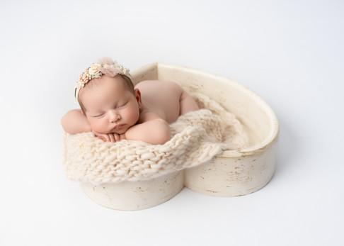 White Newborn Photography Simple Clean Baby Photographer Essex.jpg
