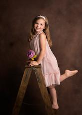 Children Photographer Modelling Fine Art Happy Photoshoot