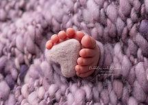 Tiny Toes Newborn Photos Purple Essex Baby Photographer Professional