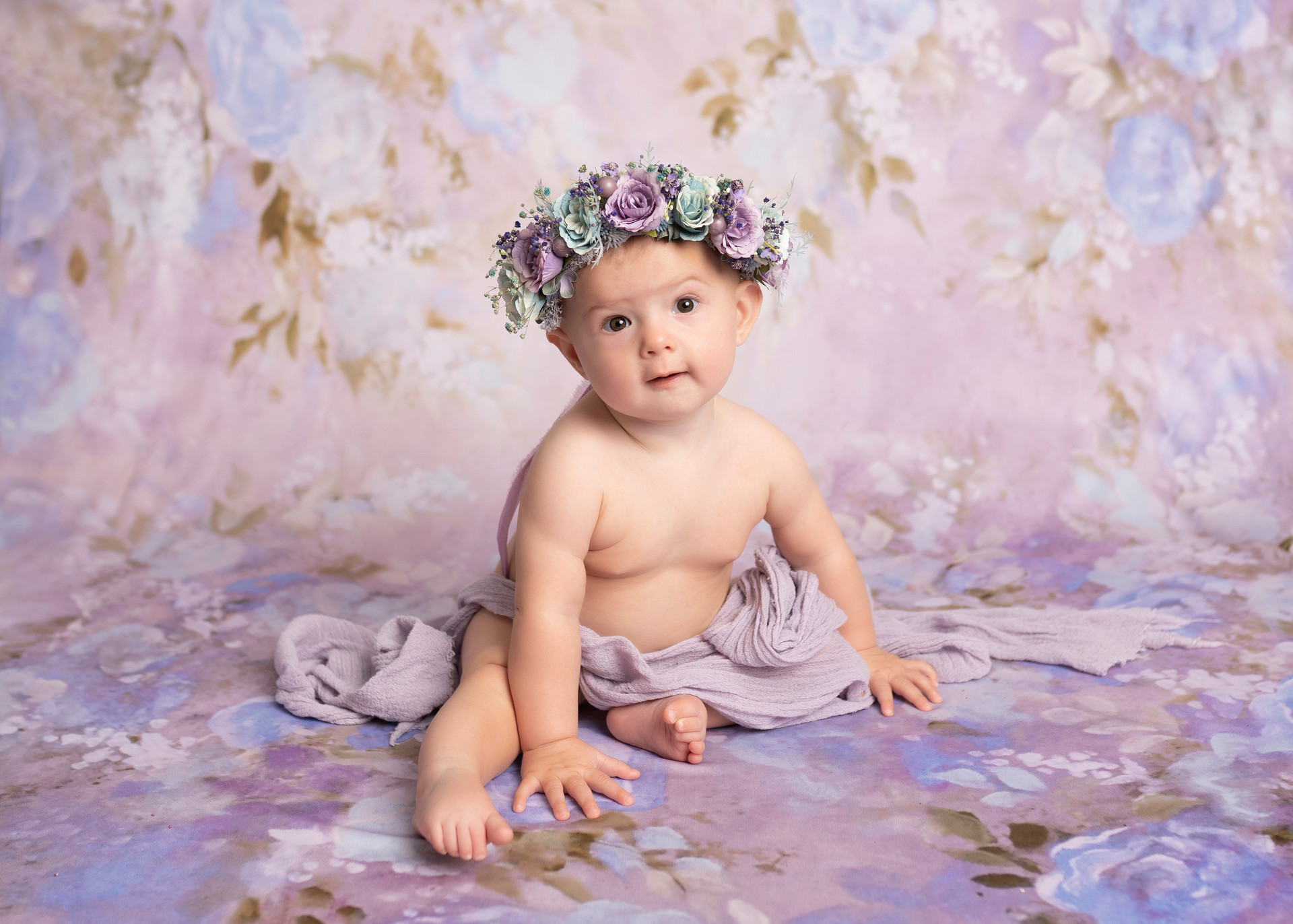 Floral Baby Girls Photoshoot Essex