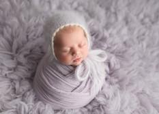 Purple Newborn Photos Potato Sack Newborn Safe Posing