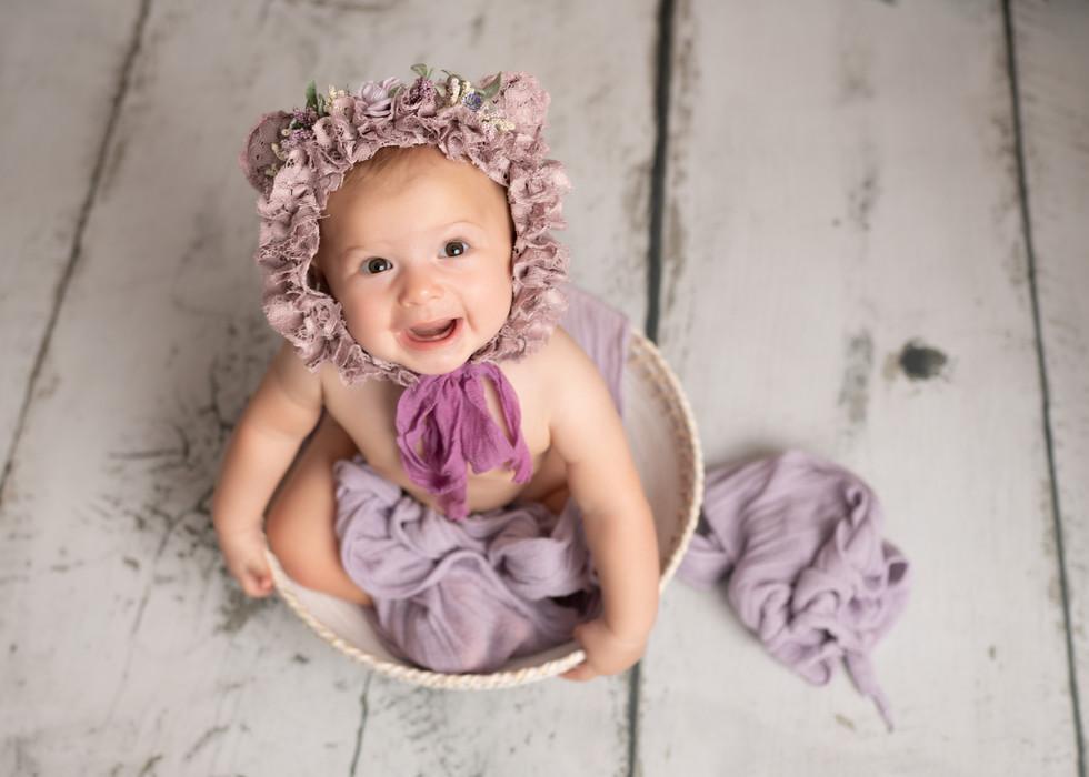 Baby Girl Photos Purple