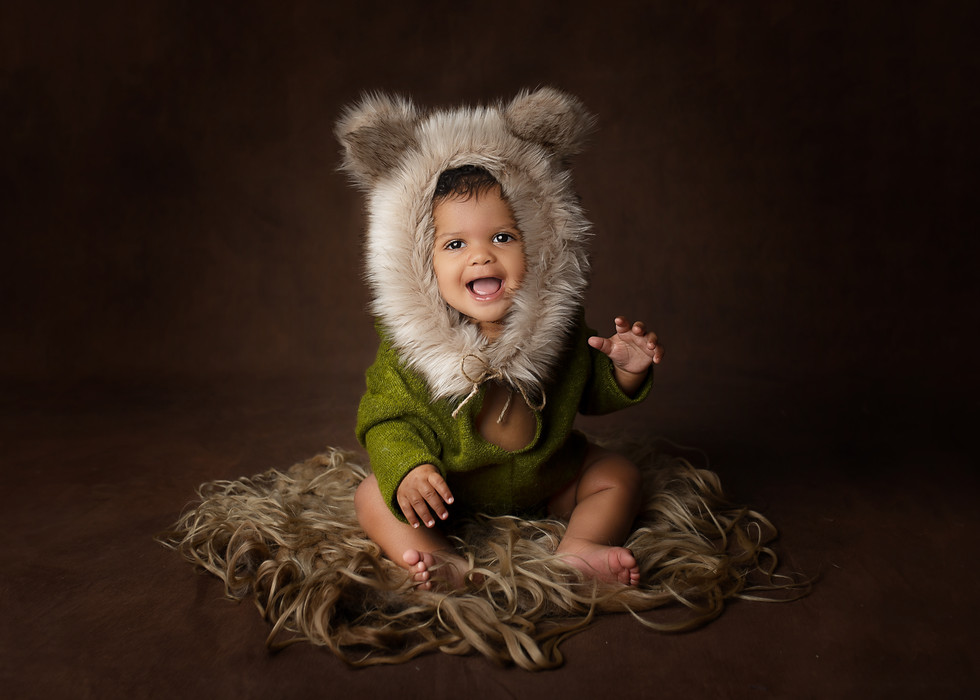 cute baby outfits photography session