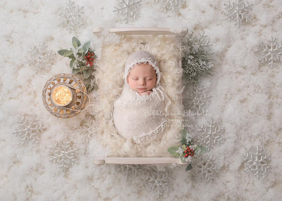 Newborn Christmas Photography Essex