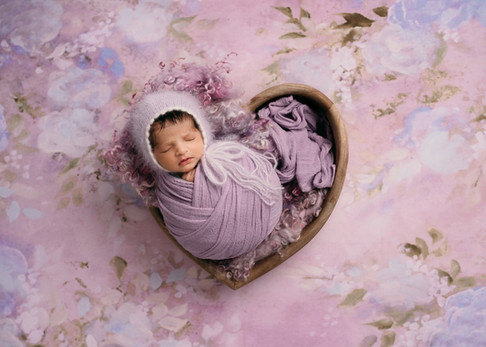 Baby Love Newborn Photos Heart Bowl