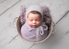 baby in a bucket newborn photos essex st