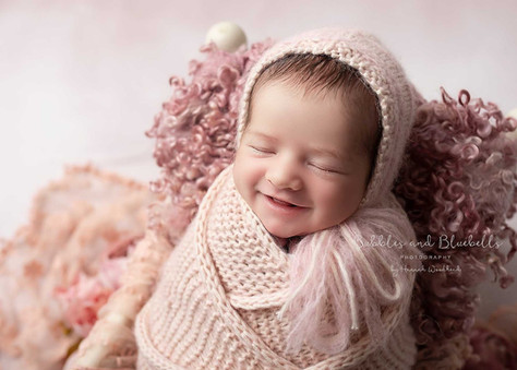 Pink Newborn Photographer Essex