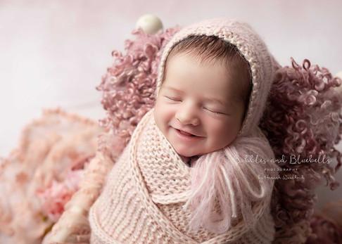 Pink Newborn Photographer Essex