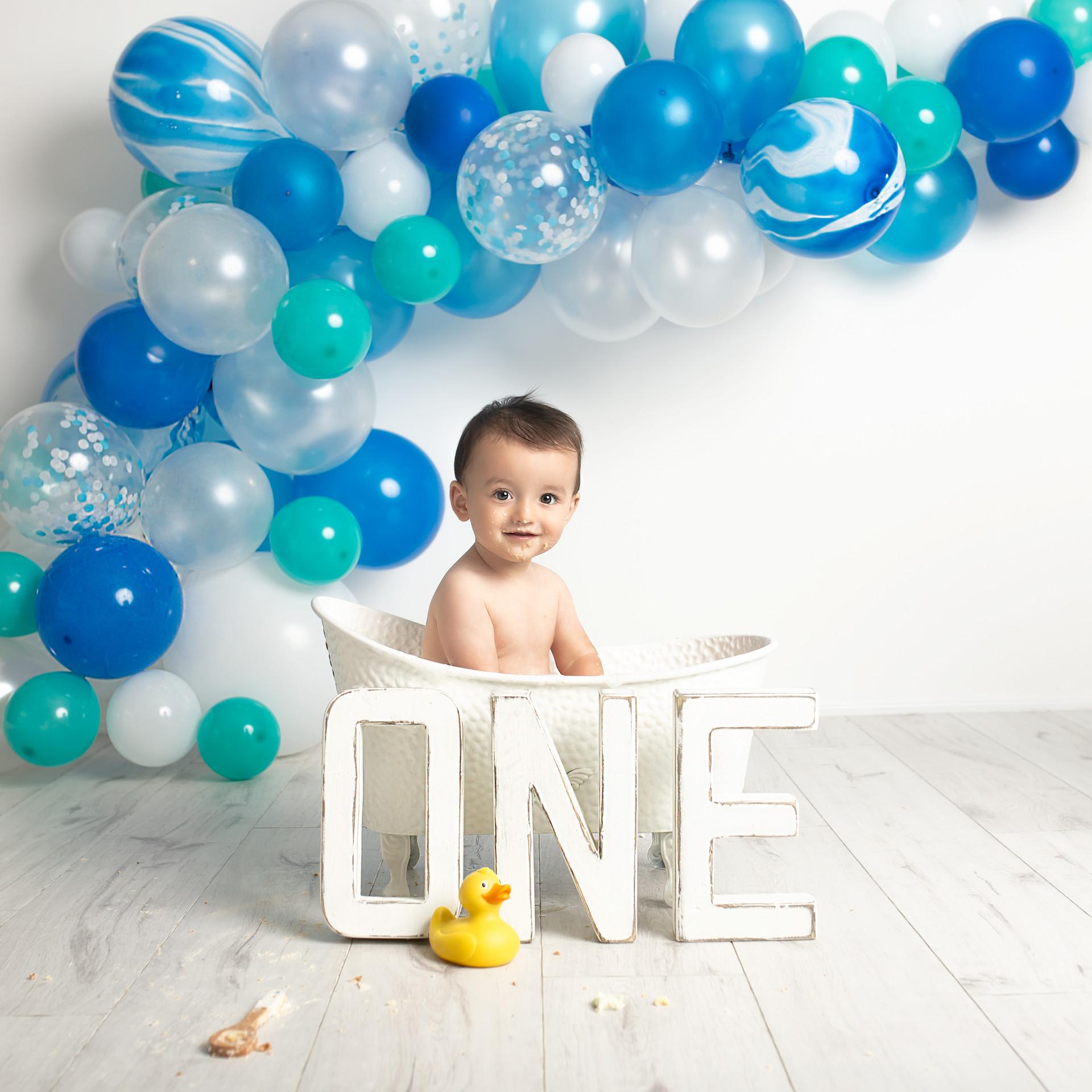 Cake Smash Baby Boy Photography Essex