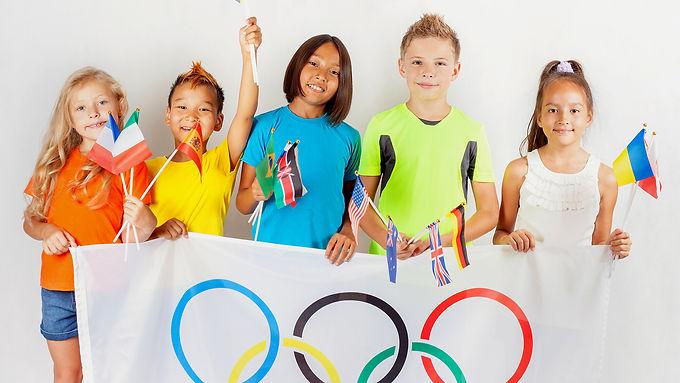 Week 1 : June 28th - July 2nd 5+:   ILA va aux Jeux Olympiques!