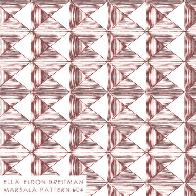 Marsala Pattern #04