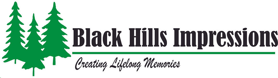Black Hill Impressions logo business car