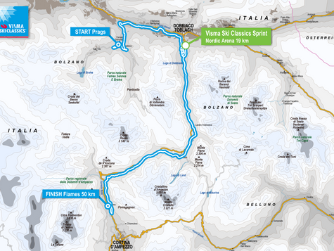 Toblach – Cortina...tomorrow already ;-)