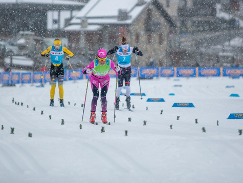 Bauer's eD system Team successful also in the VISMA SkiClassics Individual prologue :  Katerina
