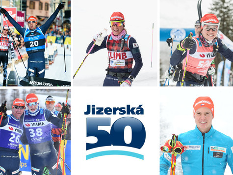 """Lukas Bauer before Jizerska 50: """"I take it as the most prestigious and most important race for"""