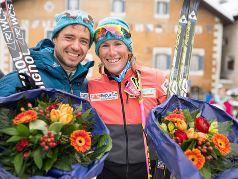 Two podium places for the Bauer Ski Team at La Diagonela