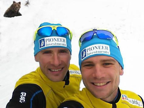 Kompletní tým již na sněhu