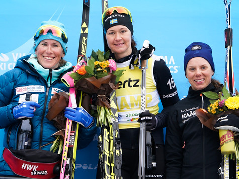 Bauer Ski Team at Toblach-Cortina: Great results with a bitter surprise after finish