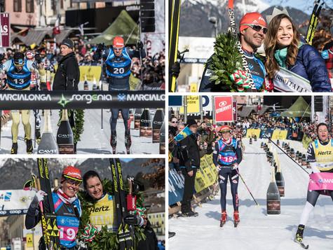 Huge success for Bauer Ski Team on legendary Marcialonga: Chernousov celebrated victory, Smutna took